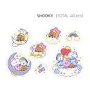 SHOOKY - BT21 Dream baby clear sticker flake pack