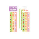 Vertical - Flying Whales Marimong cute masking deco sticker seal
