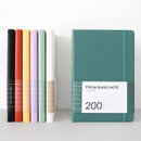 Indigo Prism 200 hardcover lined notebook with elastic band