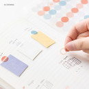 03 evening - Byfulldesign Circle and Ring deco sticker sheet set ver2