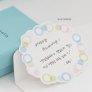 02 Afternoon - Byfulldesign Circle and Ring deco sticker sheet set ver2