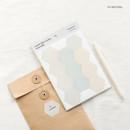 03 Neutral - Byfulldesign Useful label removable sticker set