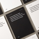 Ardium B+W A5 size hardcover lined notebook