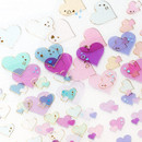 Transparent sticker - PLEPLE Love line clear deco sticker seal