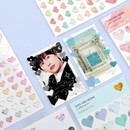 Usage example - PLEPLE Love line clear deco sticker seal