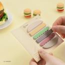 10. Burger - ICONIC Index sticky memo point bookmark set 05-12
