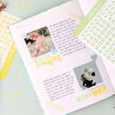 Pastel - Wanna This Korean Hangul Alphabet sticker 10 colors set