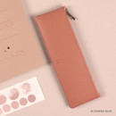 Blooming Rose - Dash And Dot Be simple synthetic leather zipper pencil case