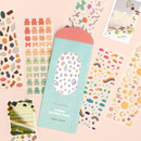 ICONIC Shining line color removable sticker pack