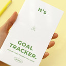 Handy size - PAPERIAN Challenge monthly goal planning tracker notebook