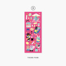 09 Theme park - Second Mansion Enfants removable sticker seal 01-09