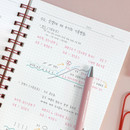 Grid notebook - ICONIC Compact A5 wire bound grid notebook