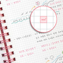 4mm grid paper - ICONIC Compact A5 wire bound grid notebook
