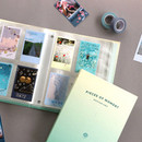 Usage example - ICONIC Moment slip in pocket photo name card album
