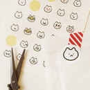 Usage example - Today's feeling paper sticker set