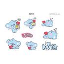 KOYA - BT21 Little Buddy Baby Removable Sticker Pack