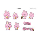COOKY - BT21 Little Buddy Baby Removable Sticker Pack
