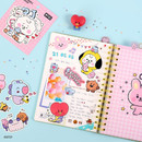Usage example - BT21 Little Buddy Baby Removable Sticker Pack
