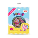 COOKY - BT21 Jelly Candy Baby Clear Sticker Flake Pack