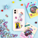 Usage example - BT21 Jelly Candy Baby Clear Sticker Flake Pack