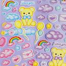 After The Rain Cyber Love Glitter Sticker Seal
