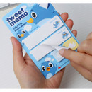 Tweet memo sticky note