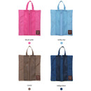 Colors of 2-way travel long multi zipper pouch
