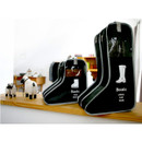 Black - Boots storage bag Dust-proof cover