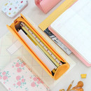 Example of Zoo animal soft pencil case