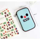 Size of Ghost pop cute illustration pencil pouch