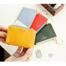 Coin card zipper wallet holder with Key ring
