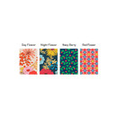 Patterns of Flower pattern travel luggage name tag