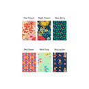 Patterns of Flower pattern slim zipper pencil case