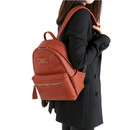 Wanna be professional leather small backpack