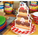 Choco cake - Holiday thank you message card
