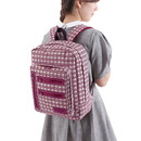 Branch purple - Monopoly Vintage pattern easy carry backpack