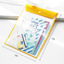 Size of Owl color file folder pouch