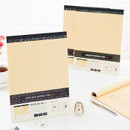 Stylish Pattern A4 memo pad notebook