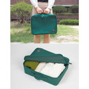 Compact travel packing organizer cube bag