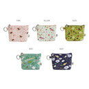 Colors of Willow story illustration pattern coin case wallet