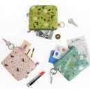 Willow story illustration pattern coin case wallet