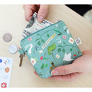 Mint - Willow story illustration pattern coin case wallet