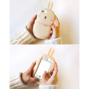 Ivory - Monomate cute rabbit iPhone 5/5S jelly case