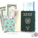 Mint - Pour vous flower pattern passport cover