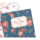 Detail of Pour vous flower pattern passport cover