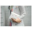 Cotton candy zipper pouch