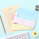 Cute animal letter paper and envelope set