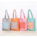 Mr.wood pocket foldable eco tote bag