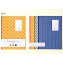 Ardium Geometric pattern lined notebook large set