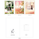 Anne - Cute illustration school lined notebook